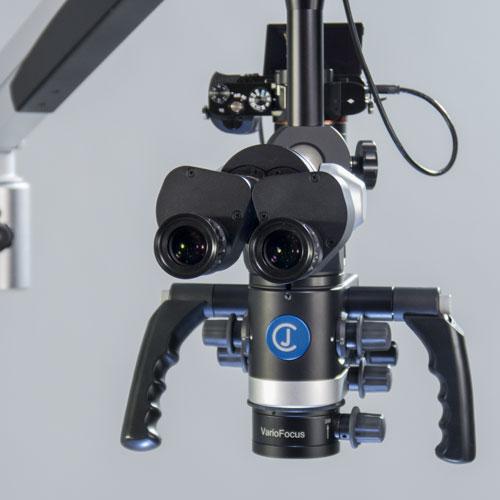 Magnificación: microscopio Flexion CJ-Optik 4