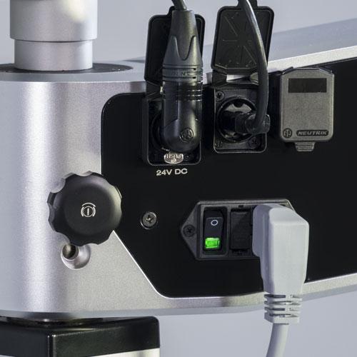Magnificación: microscopio Flexion CJ-Optik 6