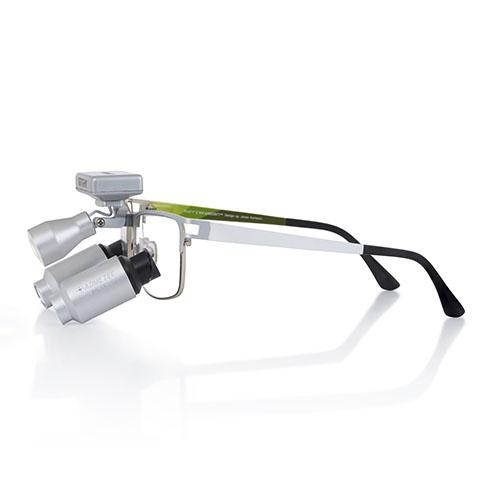 Lupas binoculares 5.5X con montura Morriz Wide y Sistema Butterfly