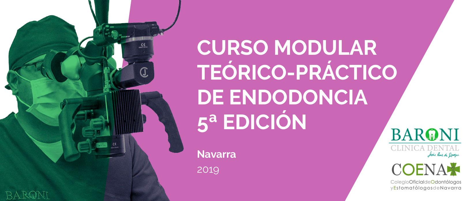 Curso modular de endodoncia en Navarra