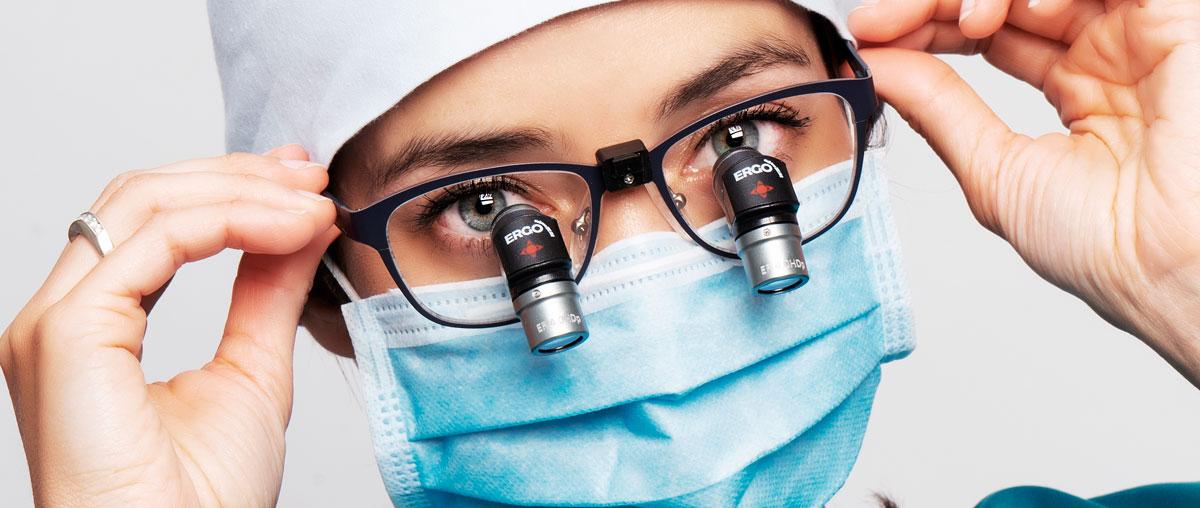 Lanzamiento oficial de lupas dentales Ergo: la revolución postural